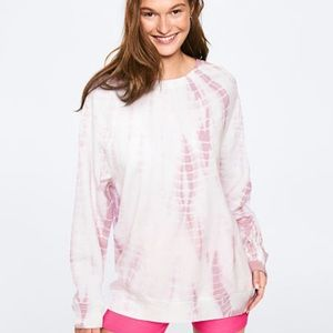 Victoria's Secret. Pink tunics sweatshirt.